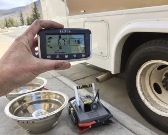 Drive Safe With an EEZRV TPMS