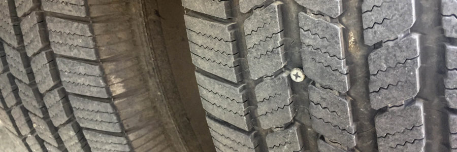 Help! We Have a Screw in our Tire!